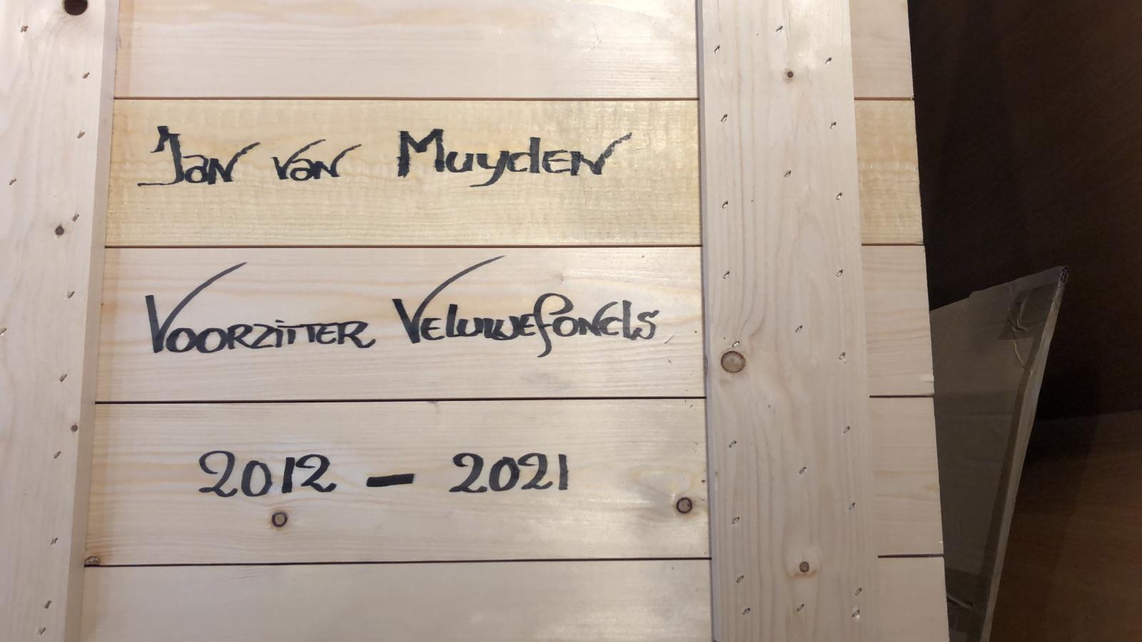 plaquette Jan van Muyden